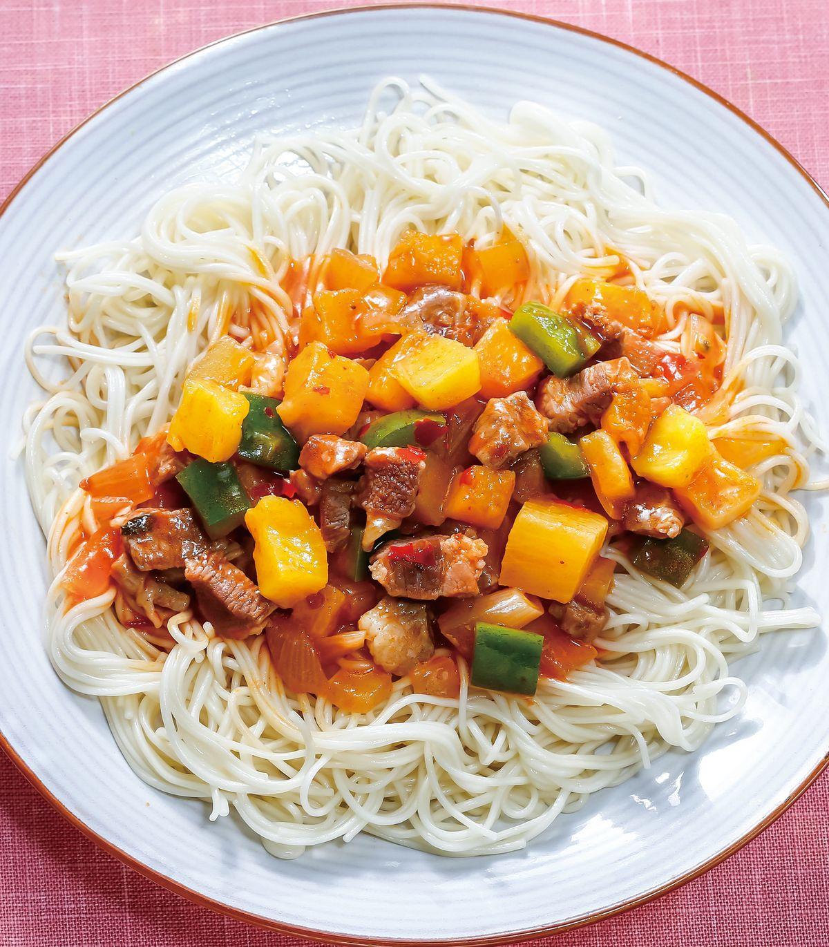 食譜:辣醬鳳梨豬肉