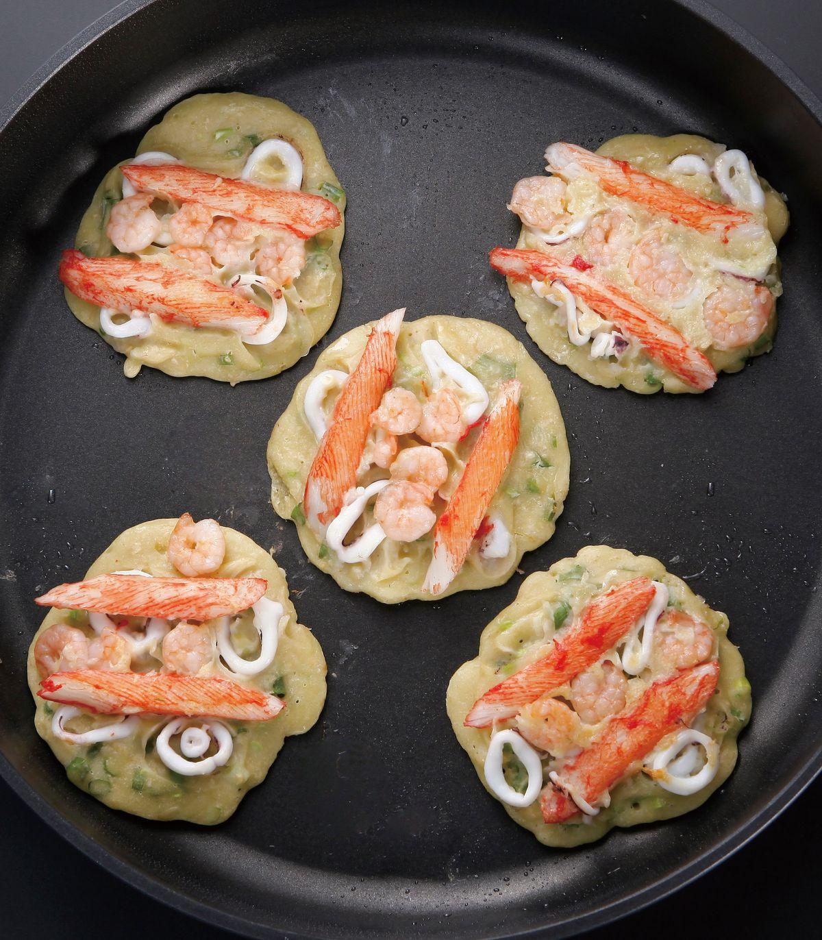 食譜:海鮮煎餅(8)