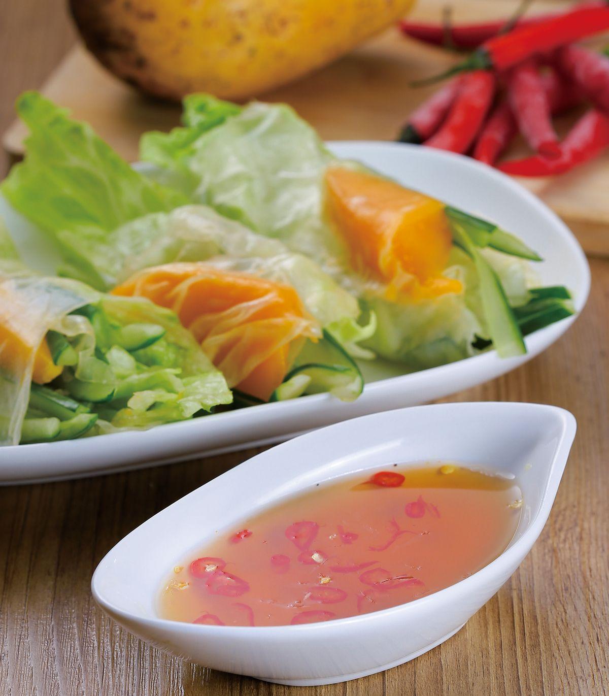 食譜:越式蔬食生春卷