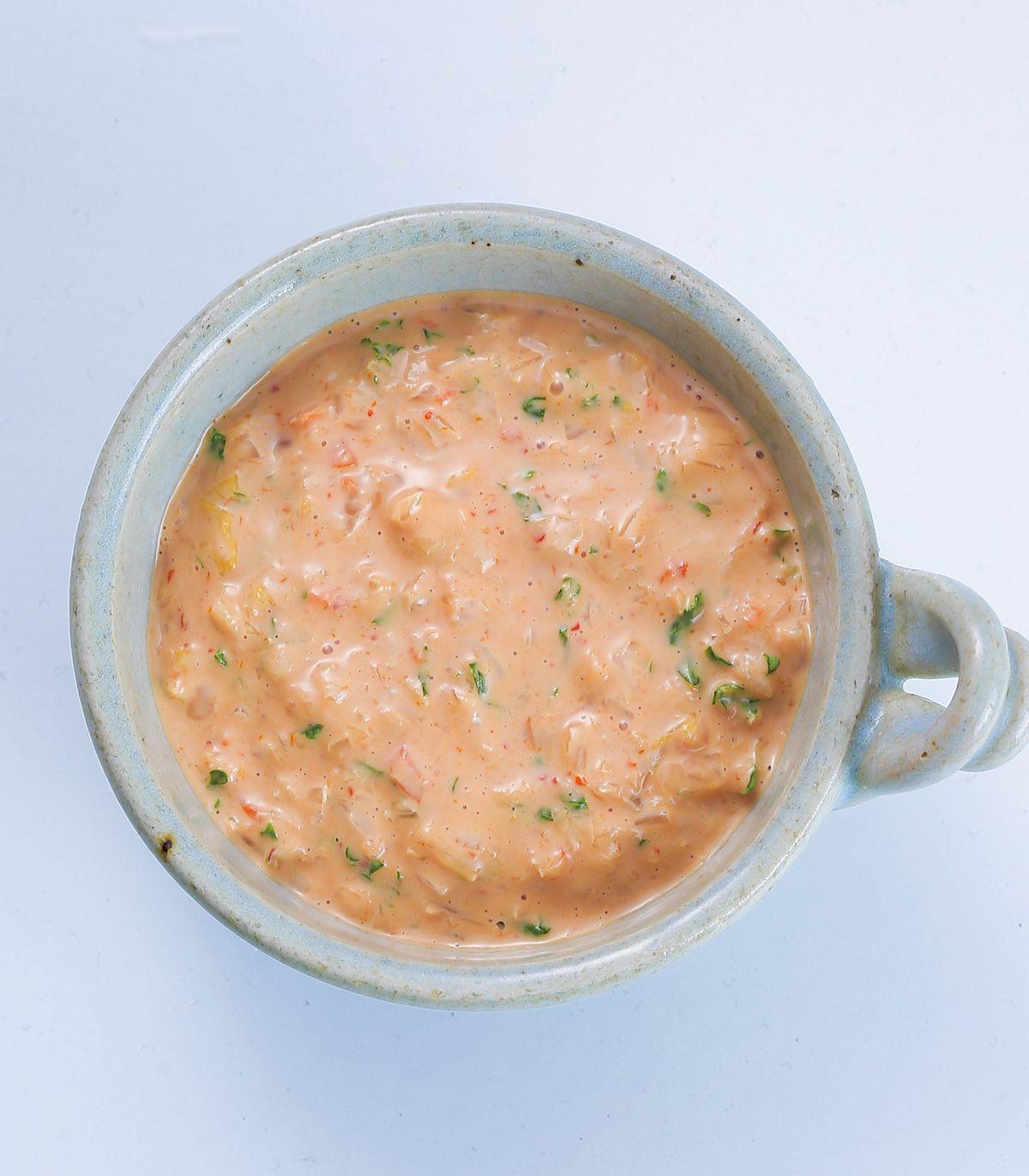 食譜:泡菜千島醬