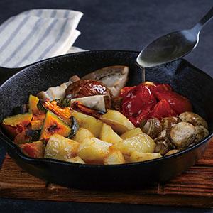 什錦鮮蔬烤馬鈴薯