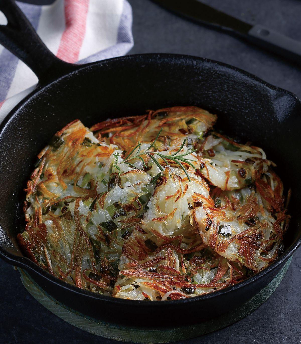 食譜:香蔥煎馬鈴薯餅