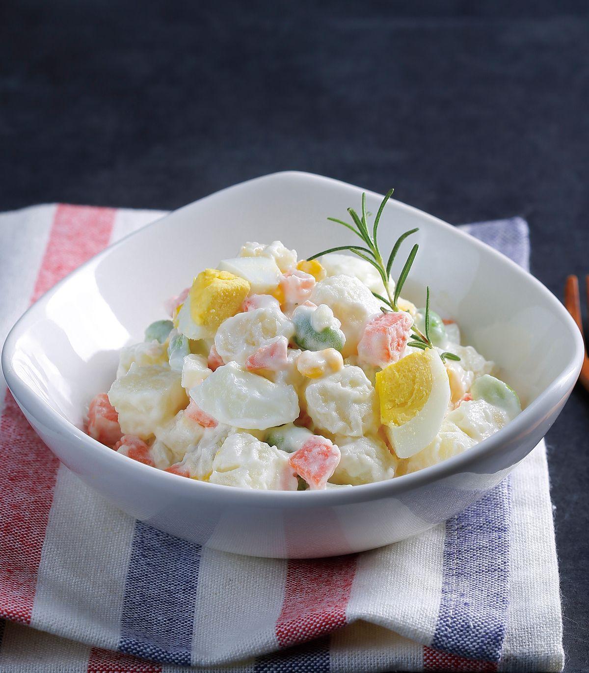 食譜:雞蛋馬鈴薯沙拉