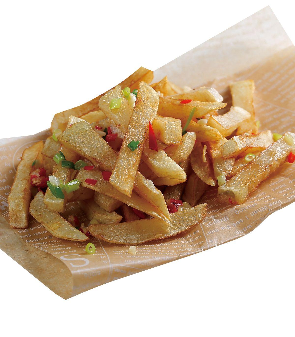 食譜:椒鹽薯條