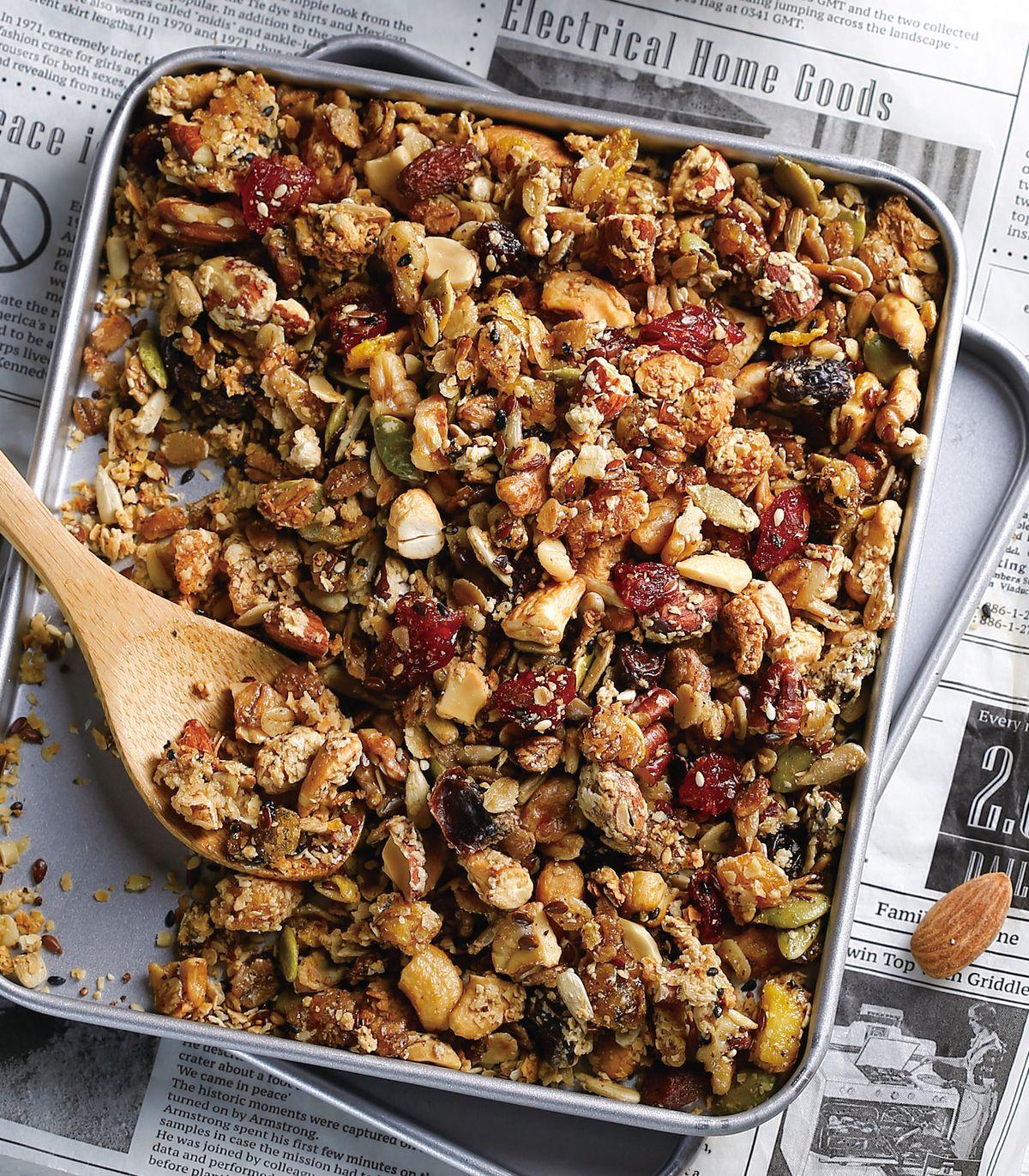 食譜:燕麥堅果酥
