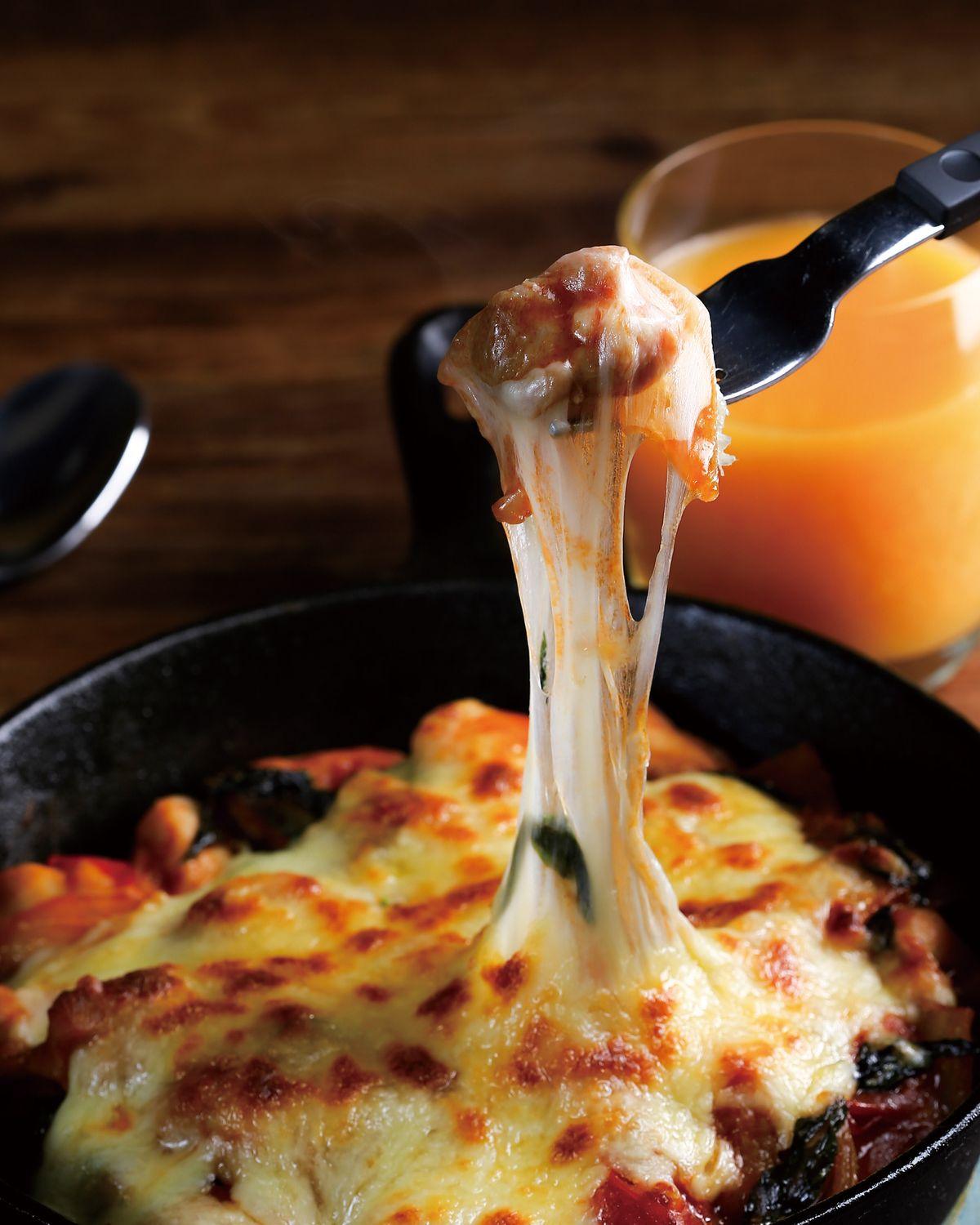 食譜:番茄羅勒焗雞塊