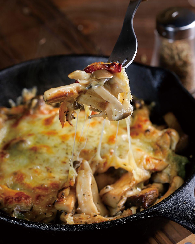 食譜:奶油起司焗蕈菇