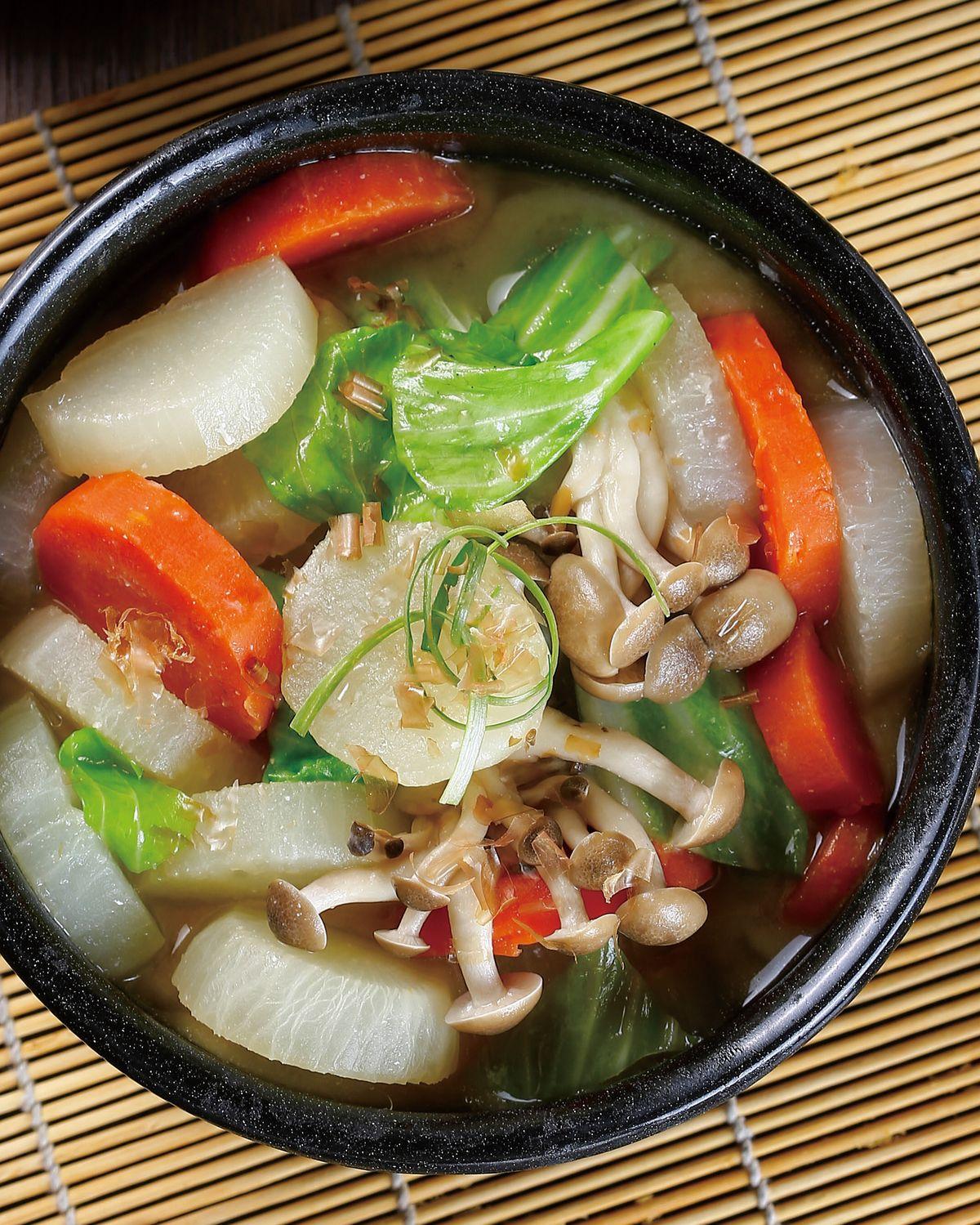 食譜:味噌滷蘿蔔
