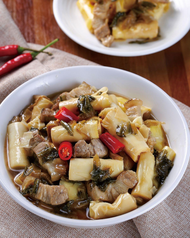 食譜:福菜滷竹筍