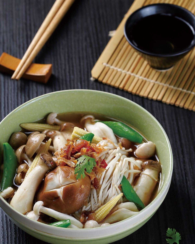 食譜:XO醬滷野菇