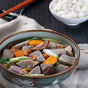 鮮菇蝦米滷芋頭