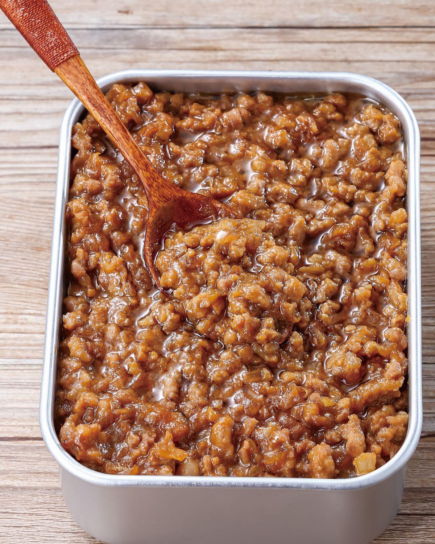 食譜:味噌肉醬(1)