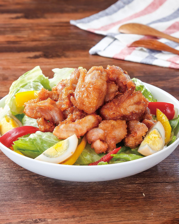 食譜:炸雞沙拉(1)