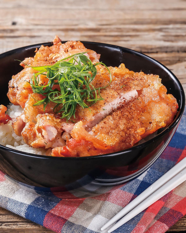 食譜:炸雞排蓋飯(1)