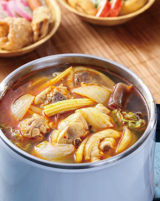 食譜:南洋咖哩鍋
