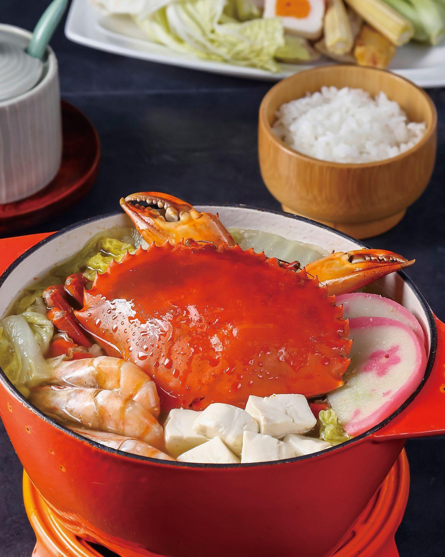 食譜:味噌鮮蝦螃蟹鍋