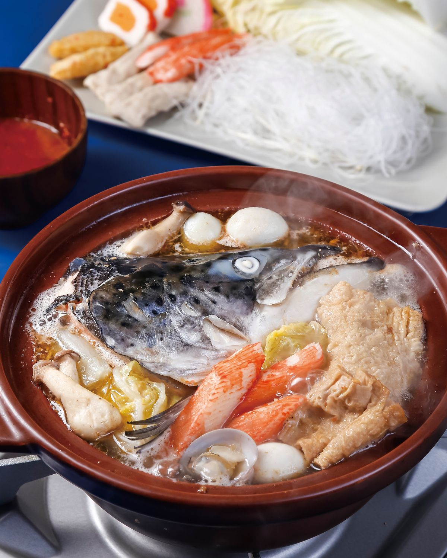 食譜:沙茶魚頭湯鍋
