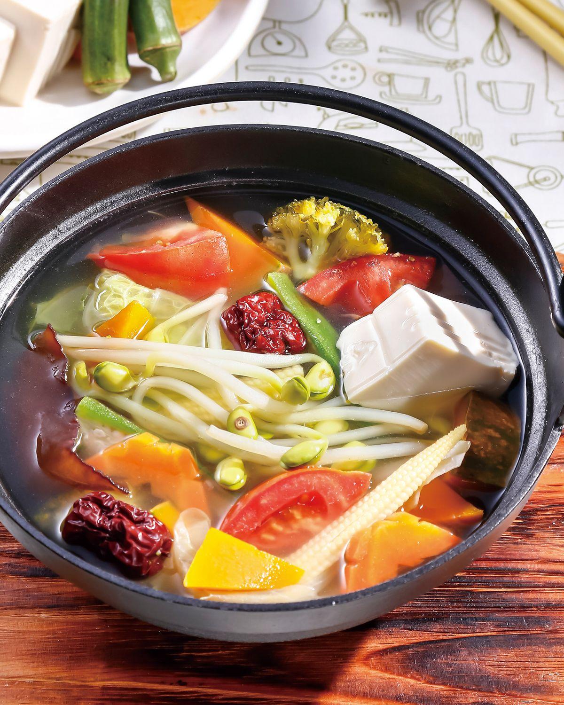 食譜:素食蔬菜清湯鍋