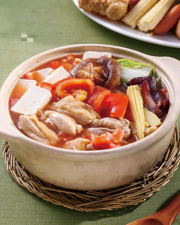 食譜:番茄雞肉鍋