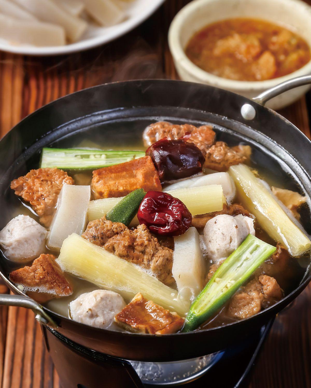 食譜:白甘蔗素食涮涮鍋