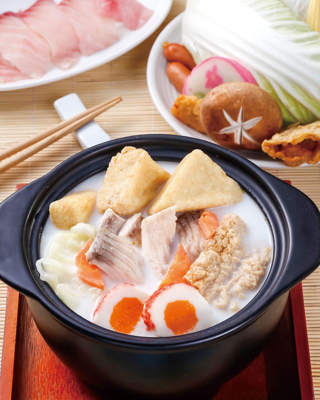 食譜:日式鯛魚豆漿鍋
