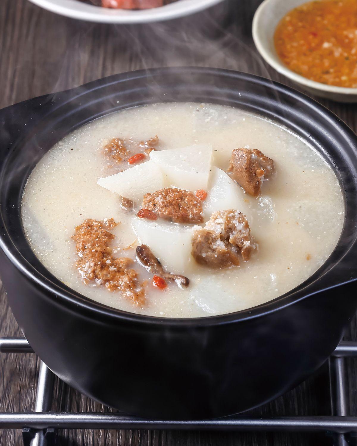 食譜:素食薏仁山藥粥鍋