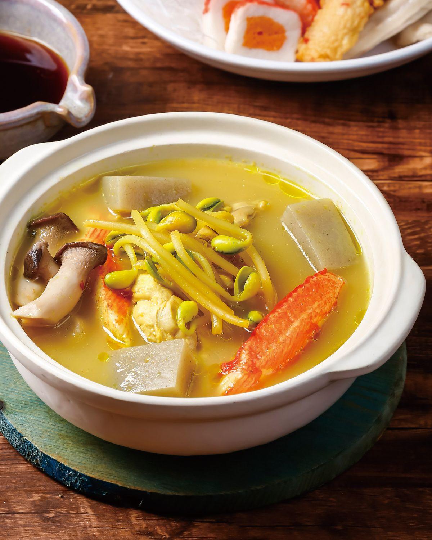 食譜:椰汁薑黃鍋