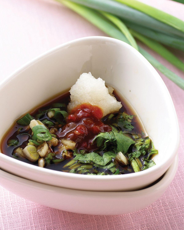 食譜:蔥香蘿蔔泥醬(1)