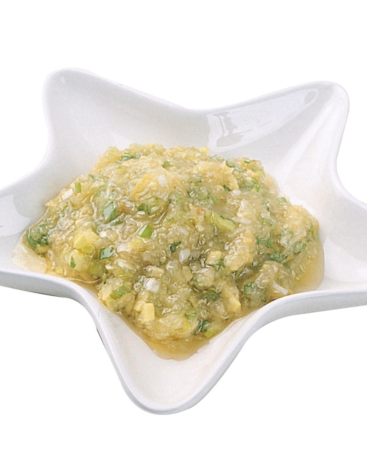 食譜:蔥薑蒜泥醬