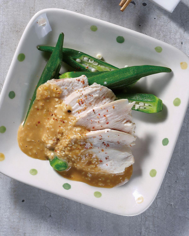 食譜:芝麻醬拌雞肉片