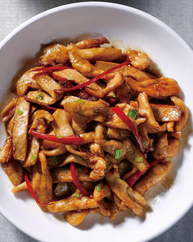 食譜:爆炒雞絲豆干