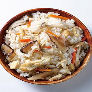 鹽麴五木炊飯