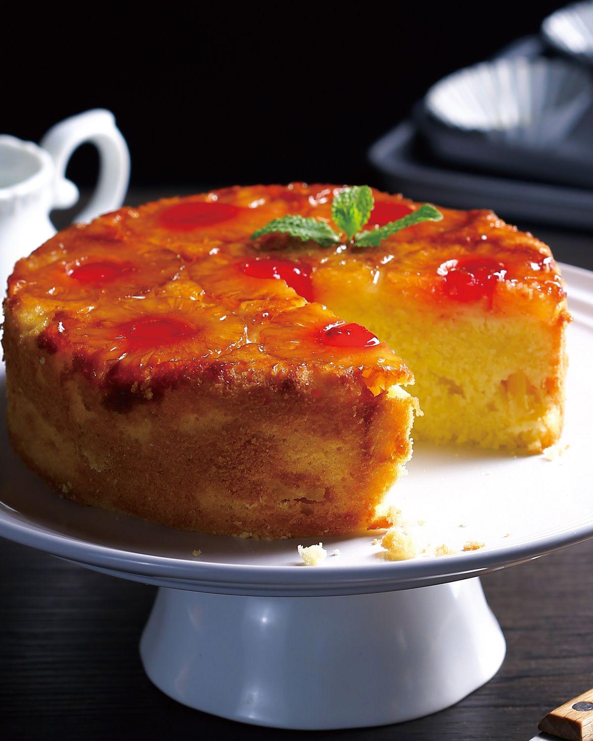 食譜:鳳梨翻轉蛋糕