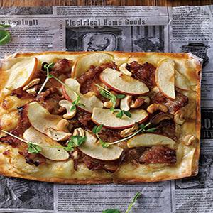 蘋果豬肉烘餅