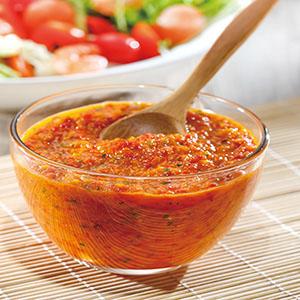 甜椒油醋醬