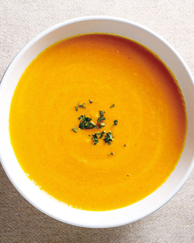 食譜:奶油紅蘿蔔濃湯