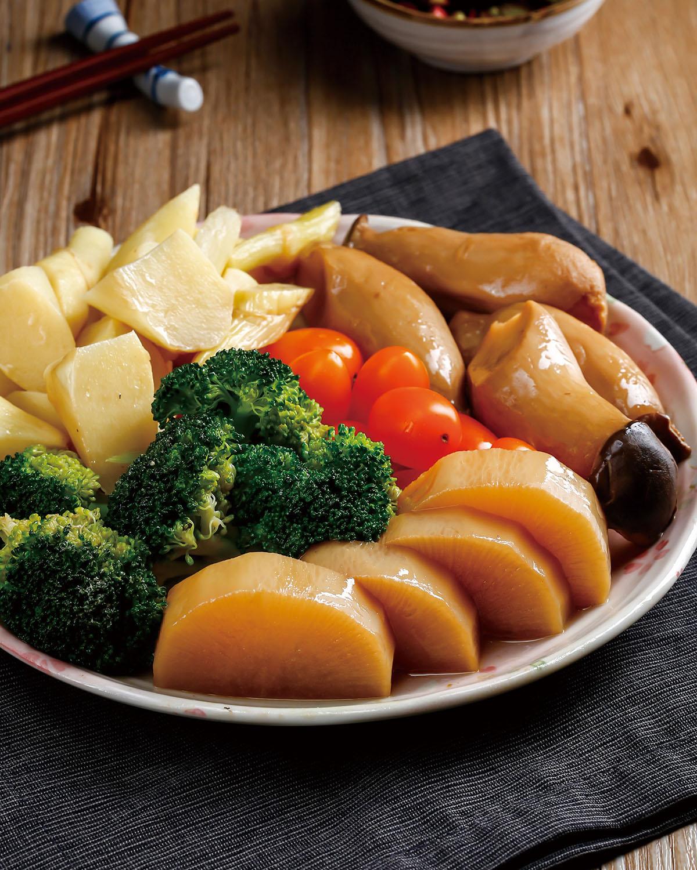食譜:香滷蔬菜拼盤