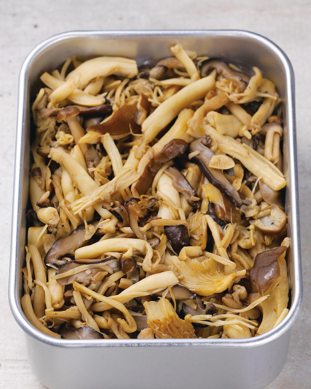 食譜:鹽味菌菇
