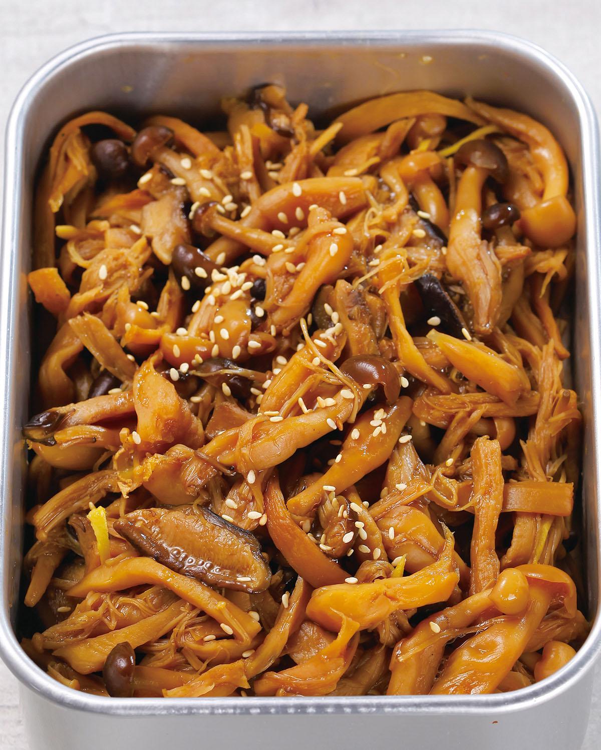 食譜:菌菇佃煮