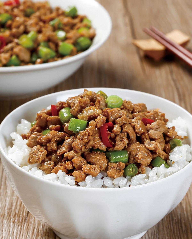 食譜:四季豆肉末醬