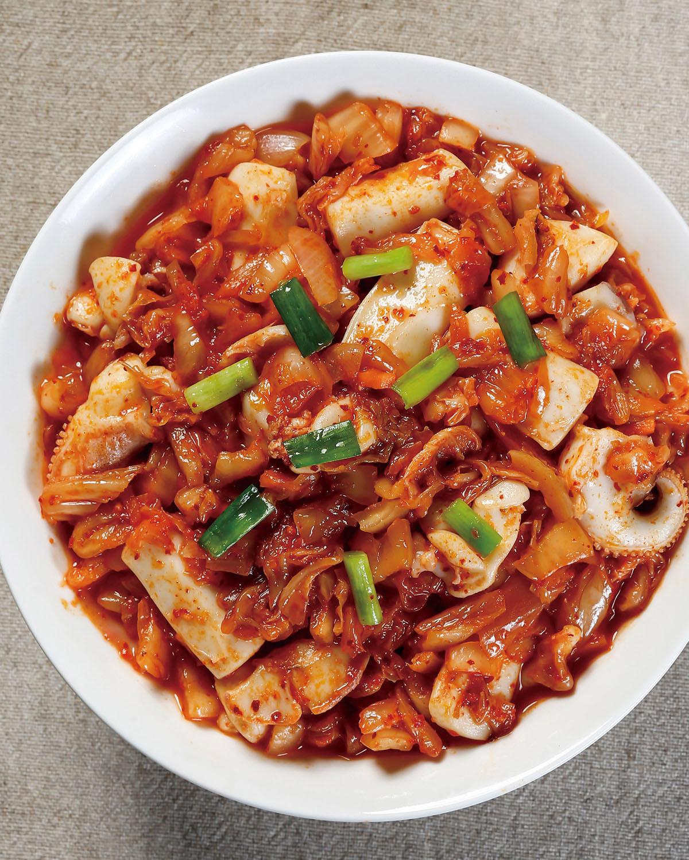 食譜:泡菜花枝醬