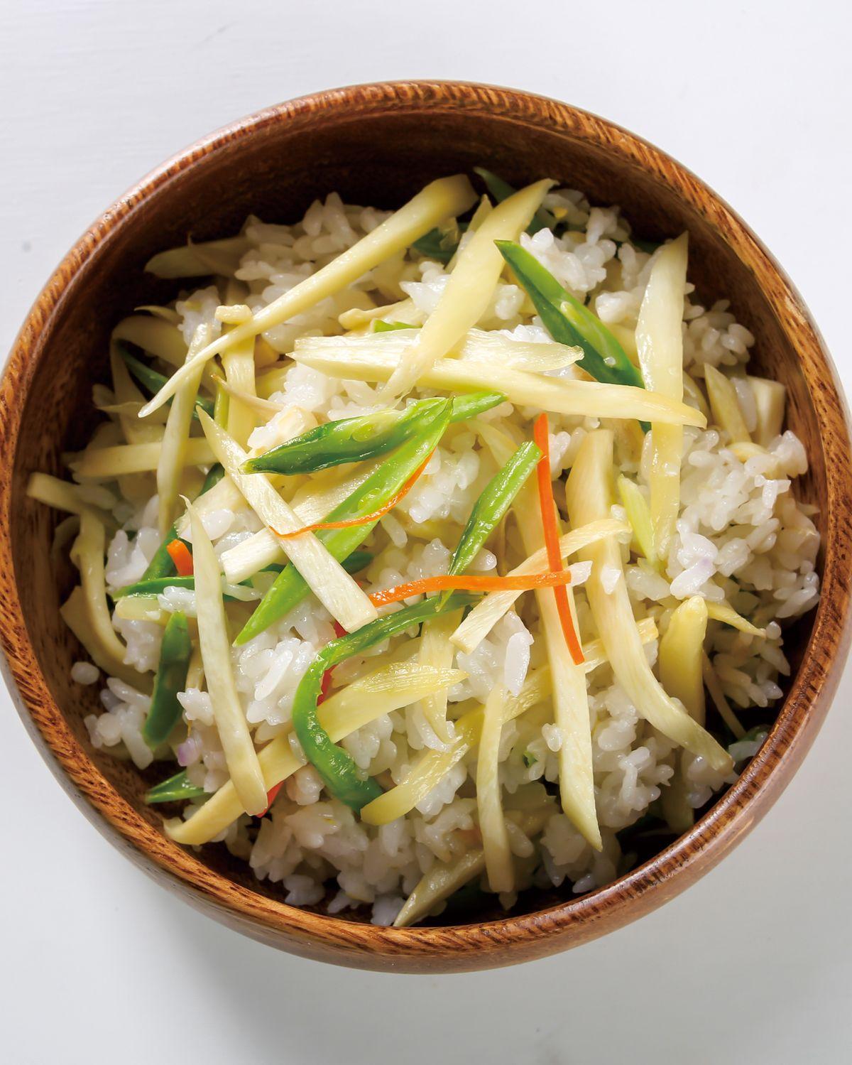 食譜:茭白筍炊飯