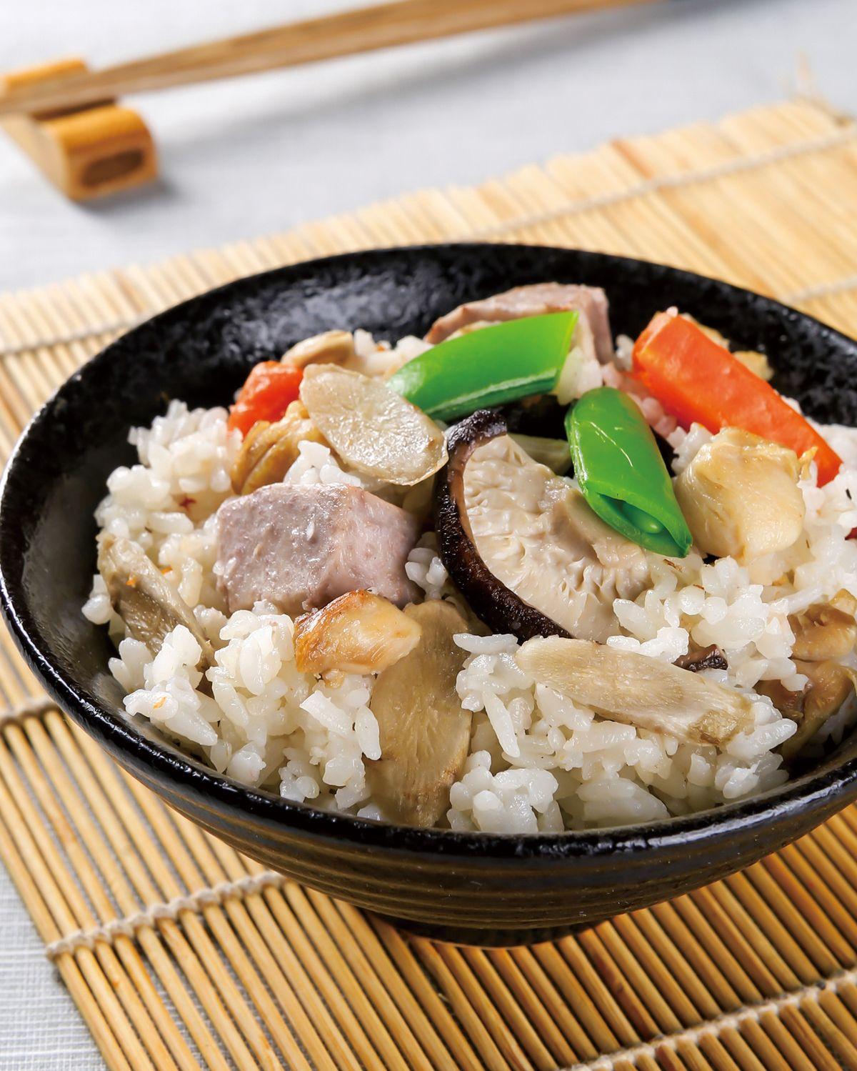 食譜:根菜炊飯