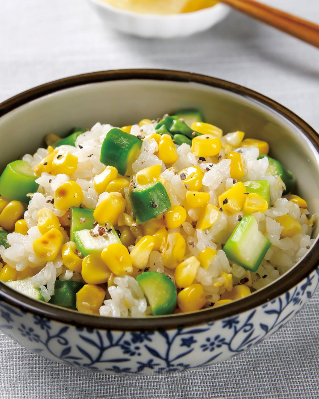 食譜:甜玉米炊飯