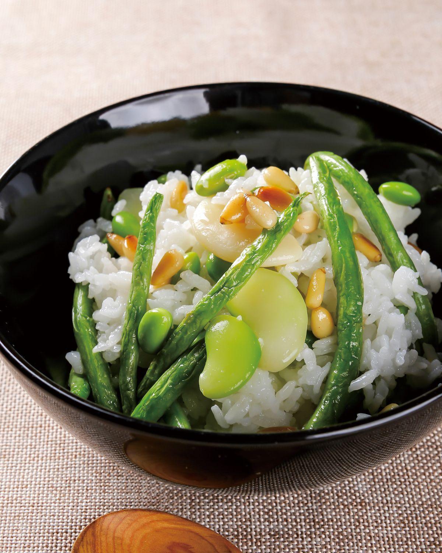 食譜:豆豆炊飯