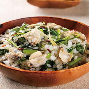 海瓜子炊飯