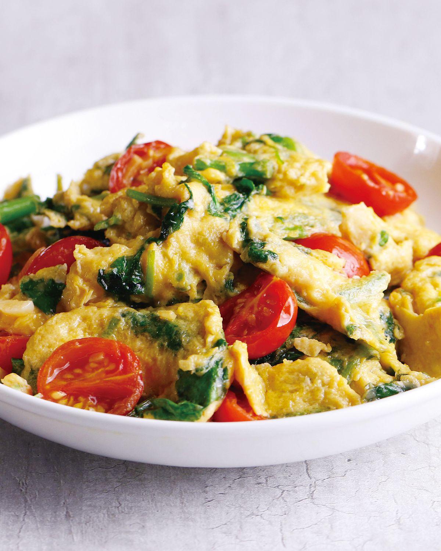 食譜:山芹菜炒蛋