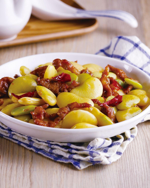 食譜:醬爆皇帝豆