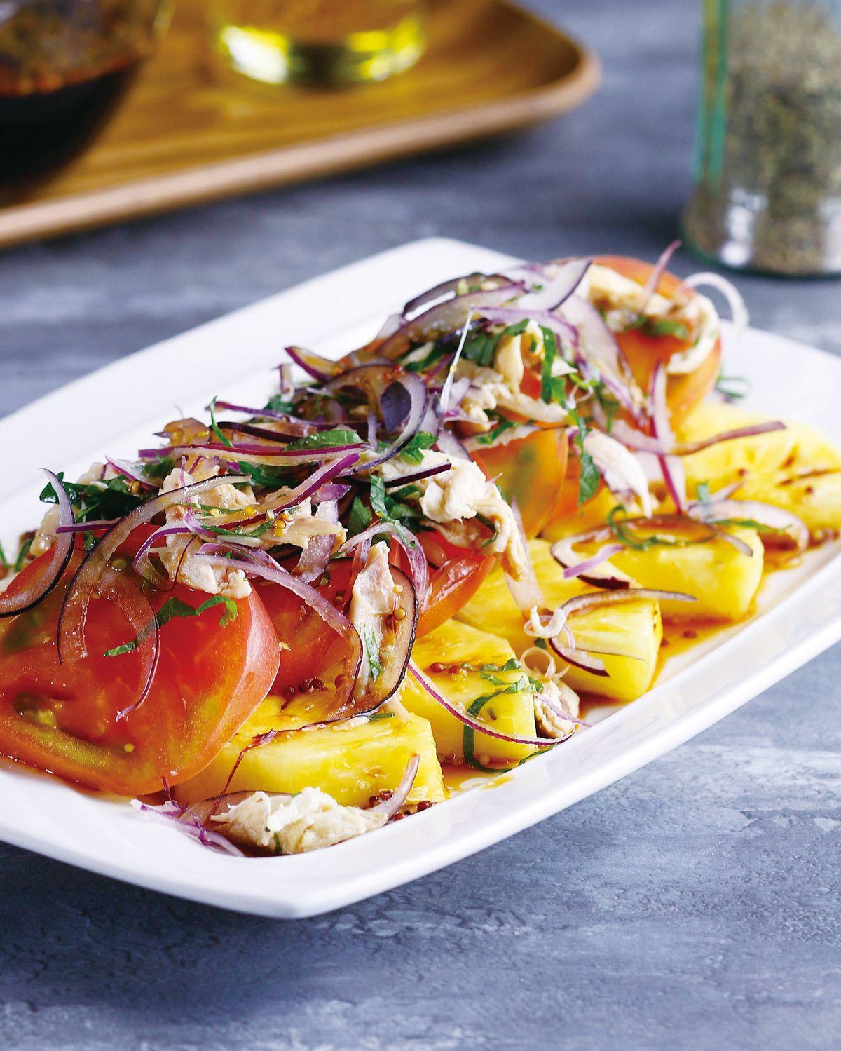 食譜:彩虹沙拉