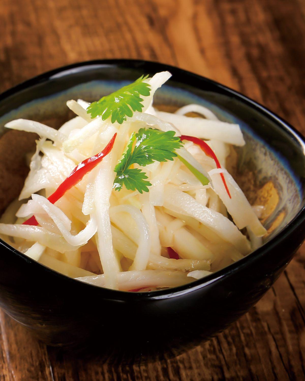 食譜:香拌大頭菜絲